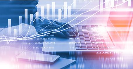 Vue de données financières